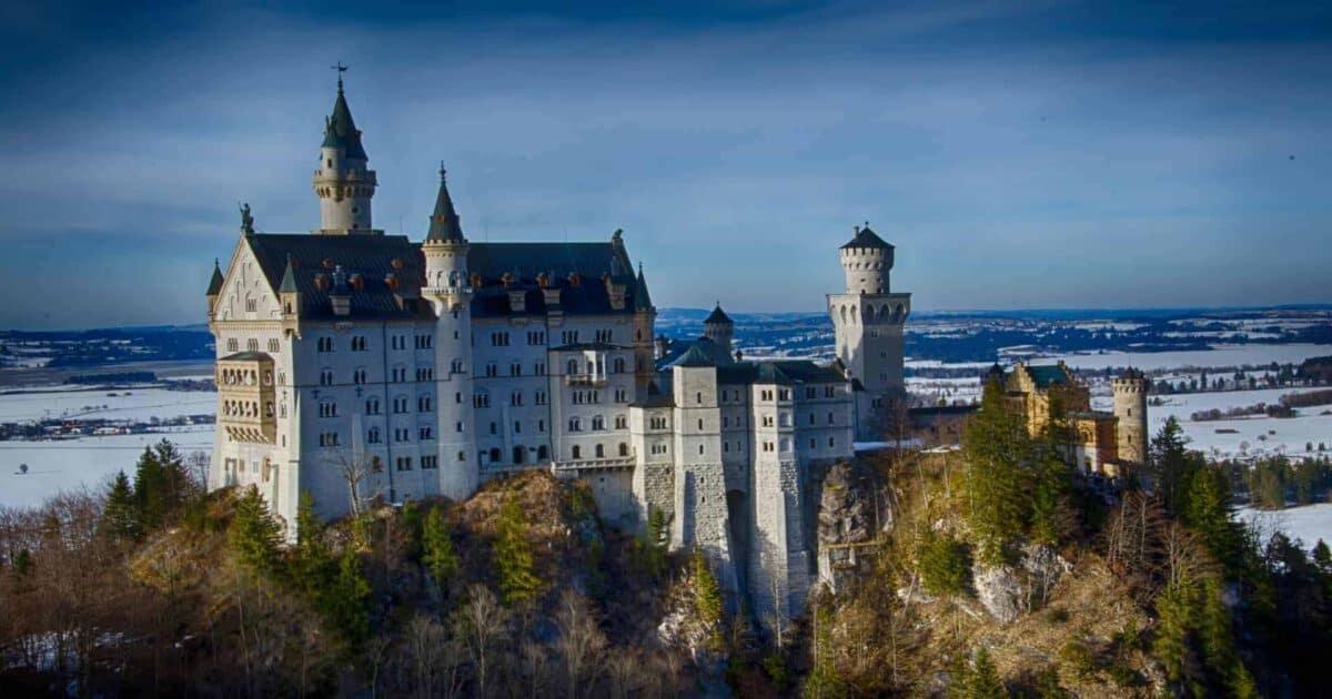 Neuschwanstein Castle in Germany featured