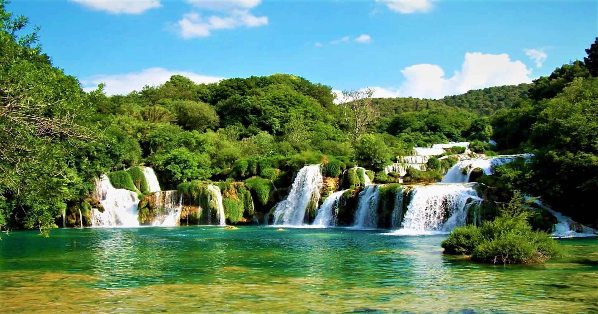 Skradinski Buk Falls Croatia