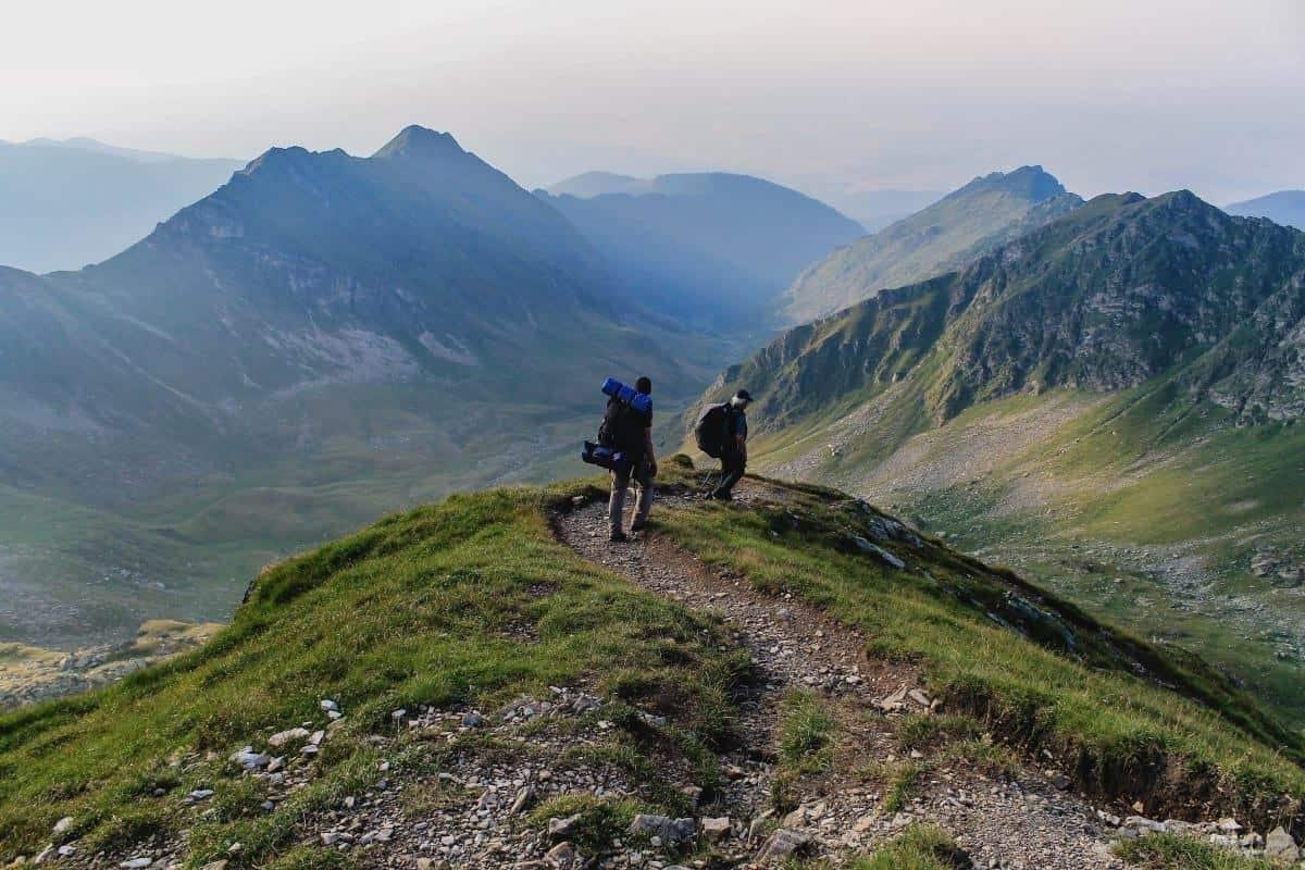 Hiking in the Transylvanian Carpathians