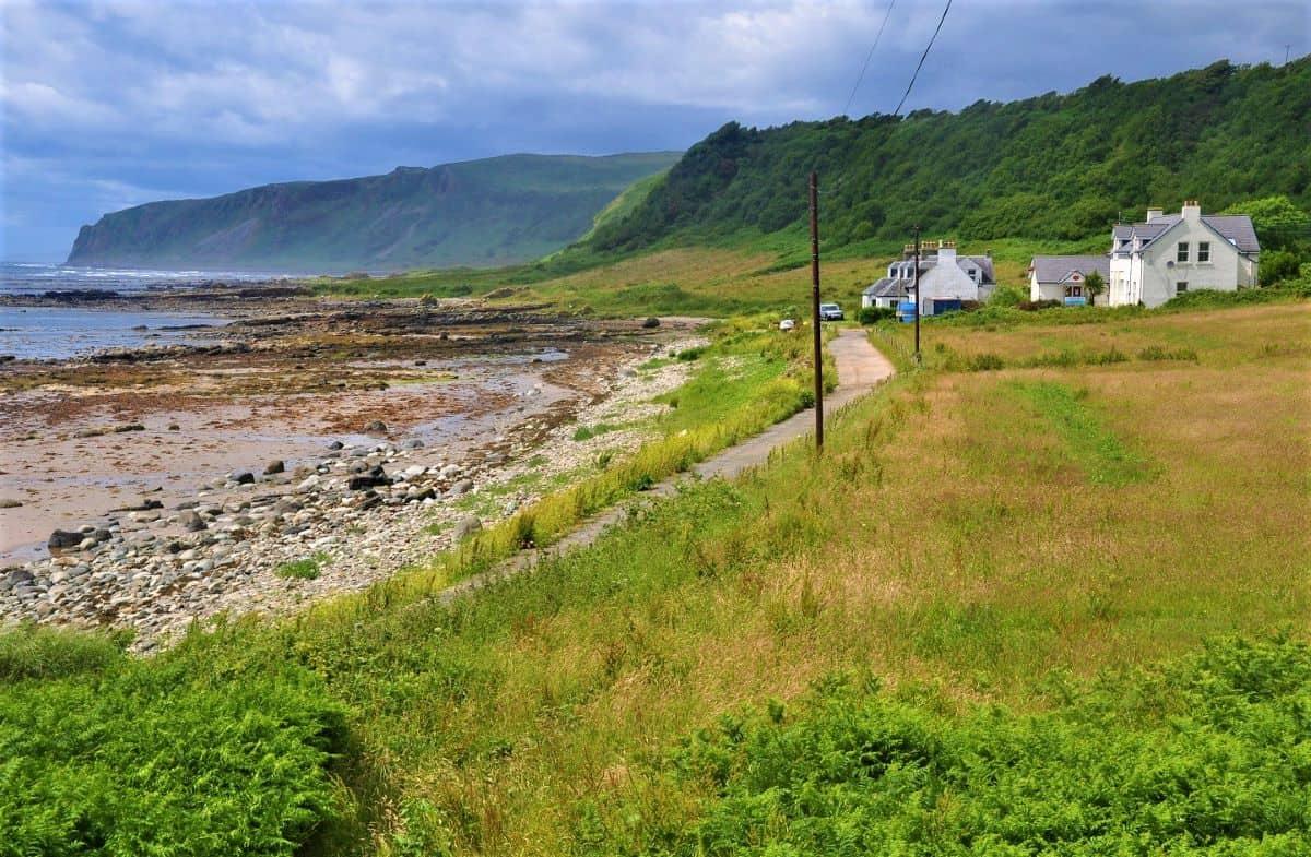 Kildonan Isle of Arran North Ayrshire Scotland
