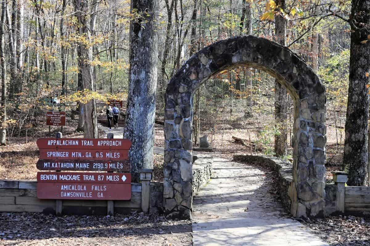 Appalachian Trail, Georgia, Maine