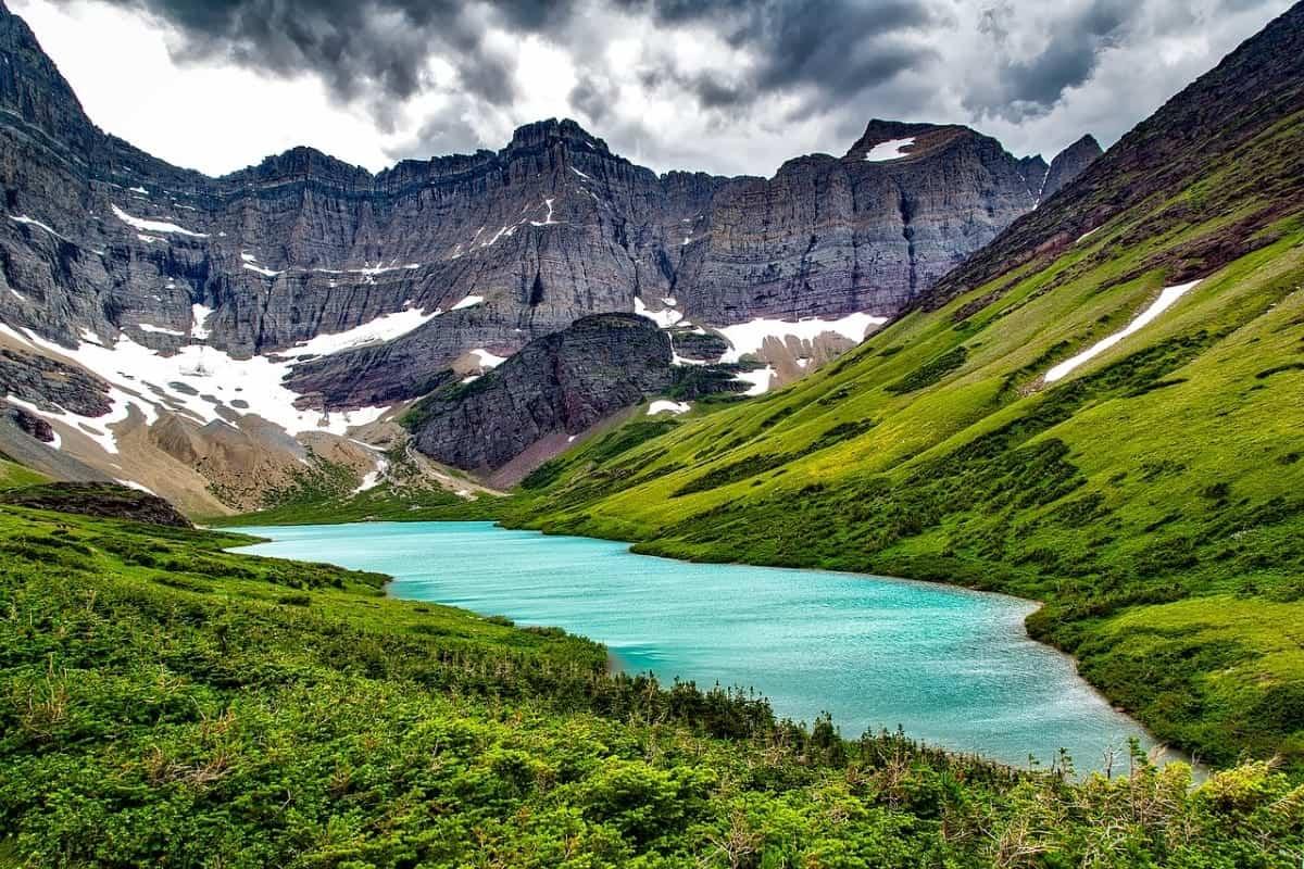 Cracker Lake Montana Glacier National Park