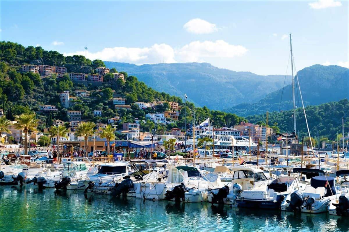Majorca Port de Soller Spai