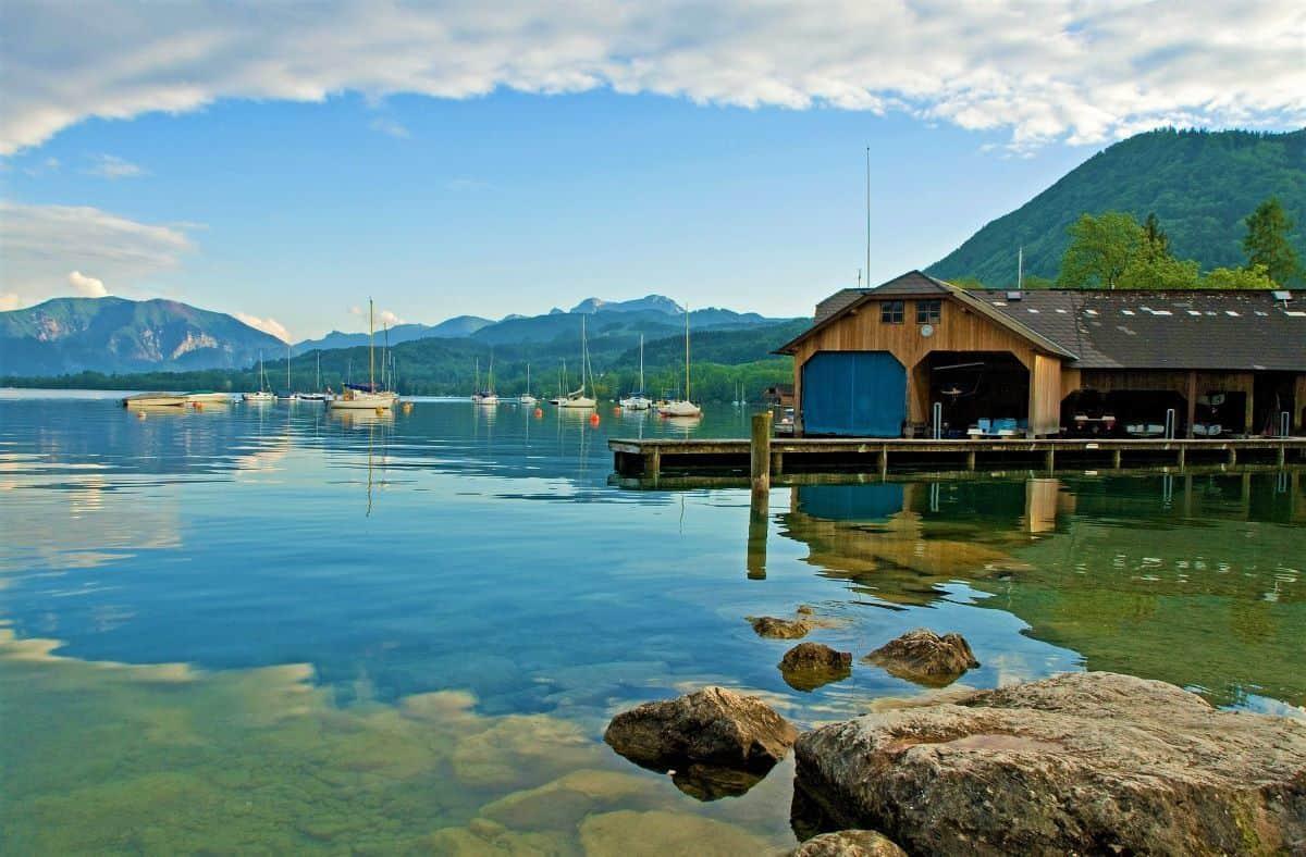 Lake Attersee Austria