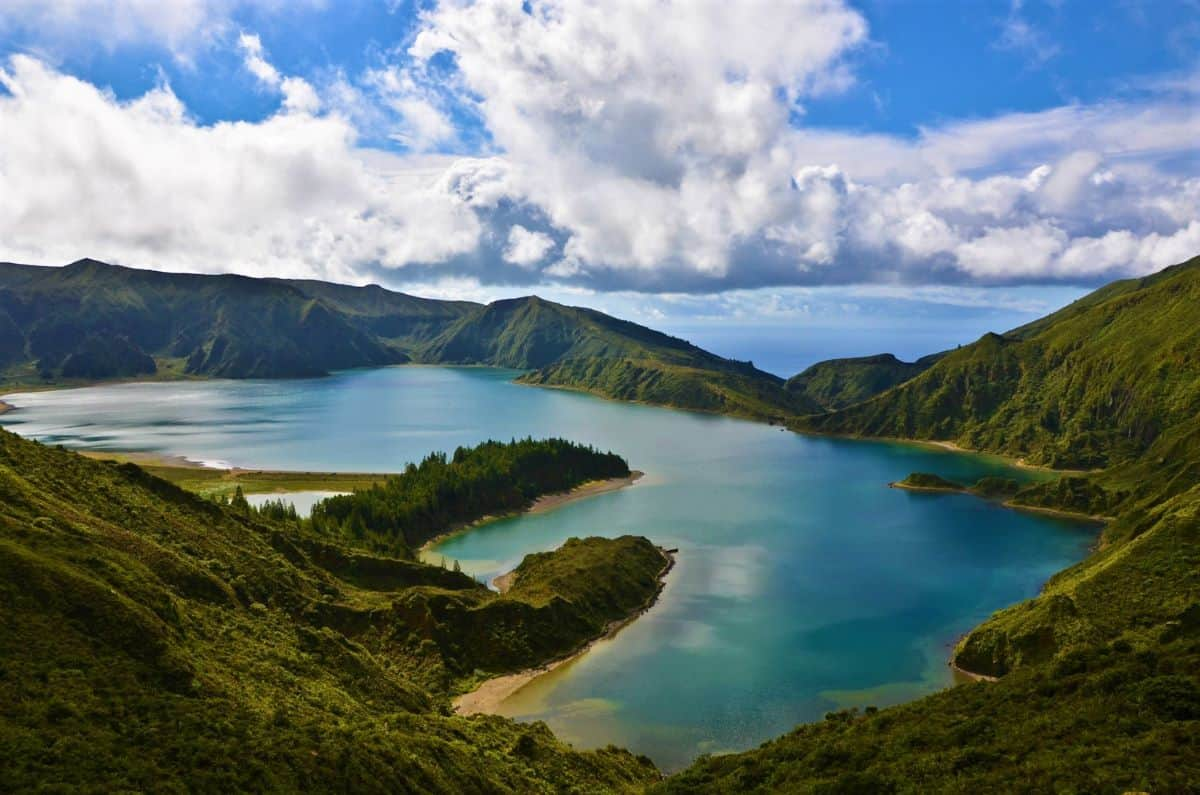 Lagoa do Fogo Azores Portugal