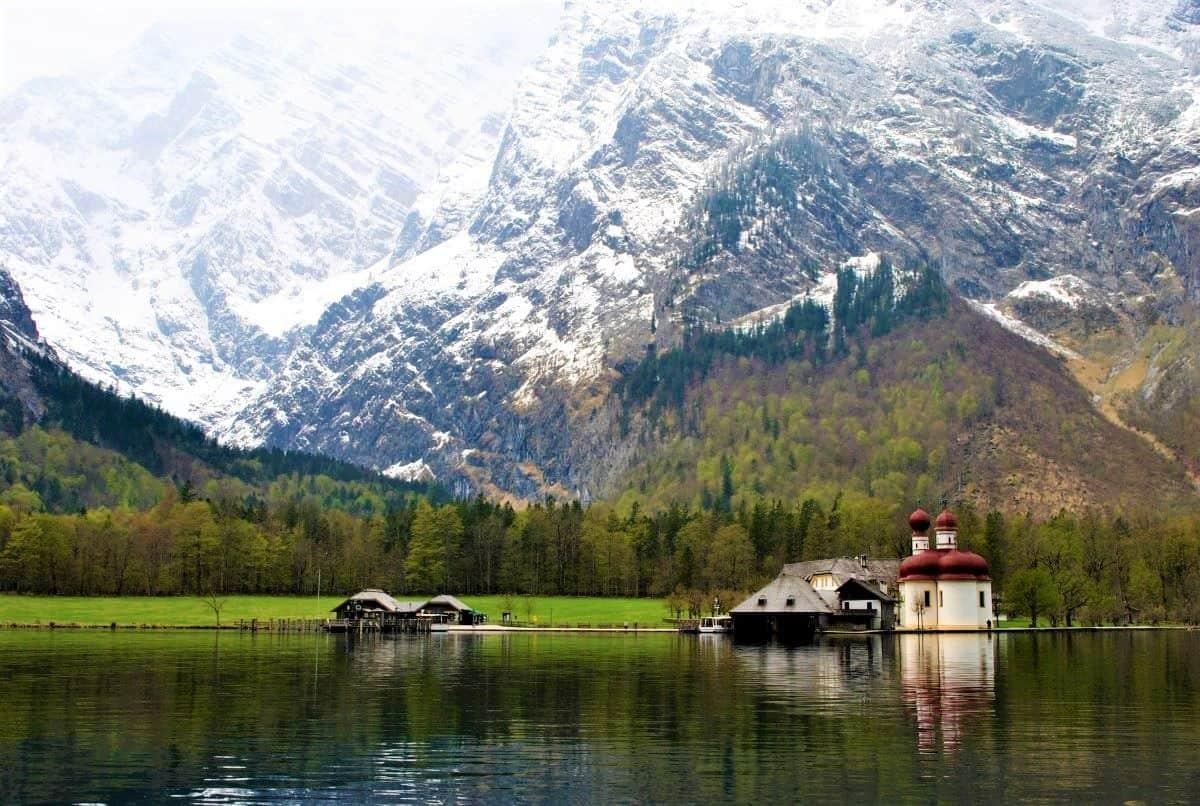 Lake Konigssee Bavaria Germany