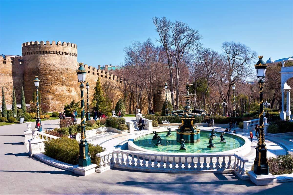 Street of the Old City Baku Azerbaijan