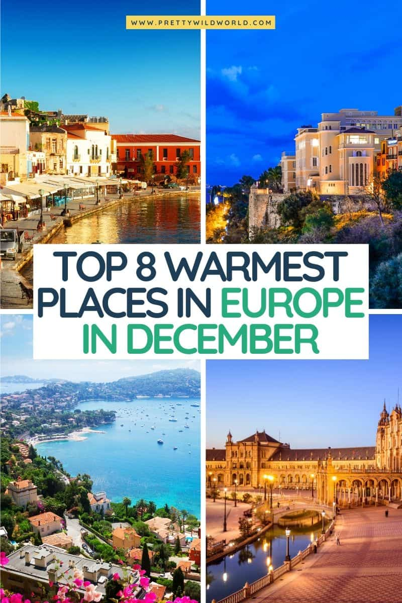 warmest places in europe in December, warm places to visit in december in europe, warmest place in europe in winter, warmest country in europe in December, warmest cities in europe in december, warm places in europe december, europe warmest cities in winter, warm destinations europe december, best warm places to visit in europe in december, warmest destination in europe in december, places to visit in europe in december, best places in europe in december, best destinations in europe December #europe #traveldestinations #traveltips #travelguide #travelhacks#bucketlisttravel #amazingdestinations #travelideas #traveltheworld