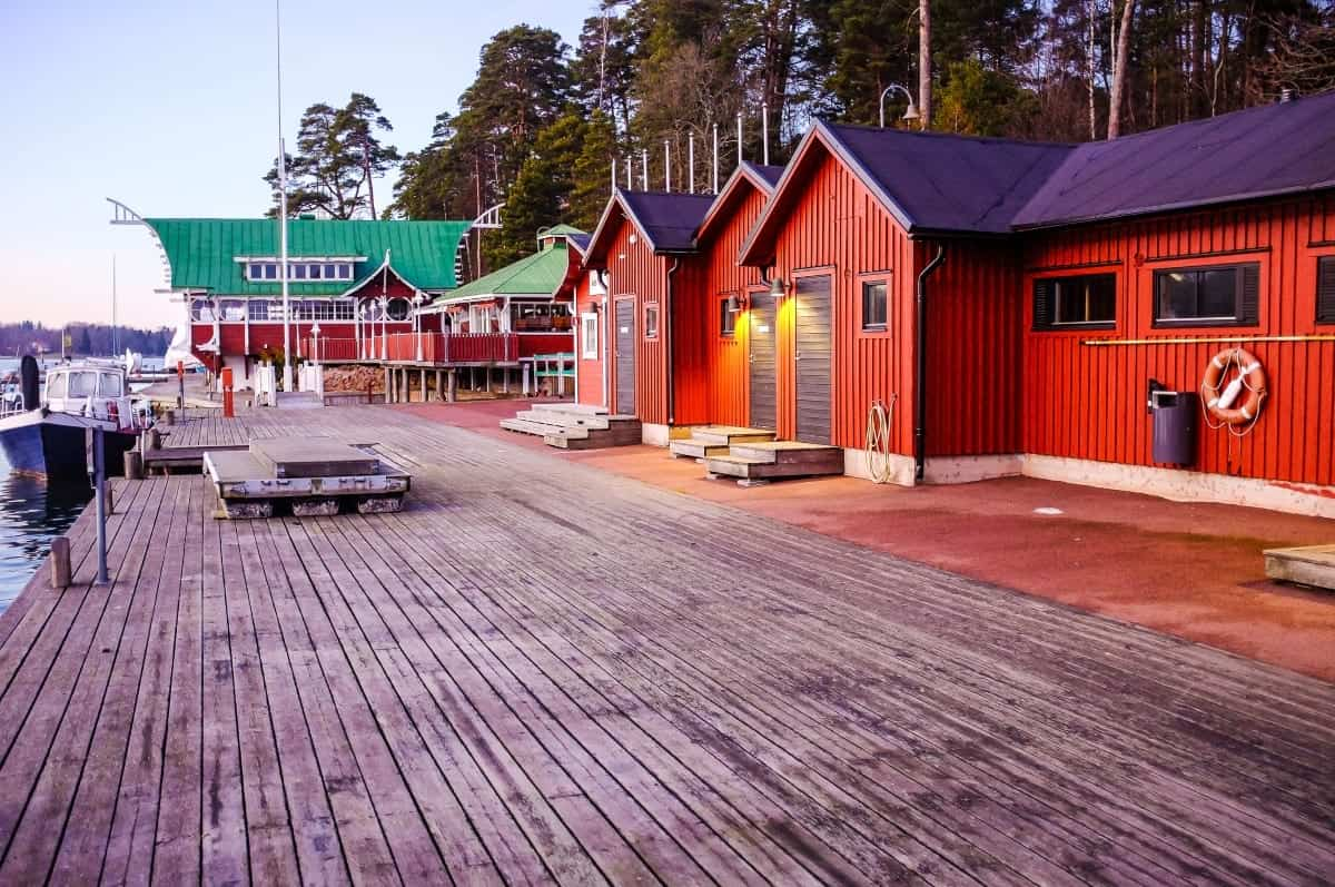 Marienhamn Aland islands