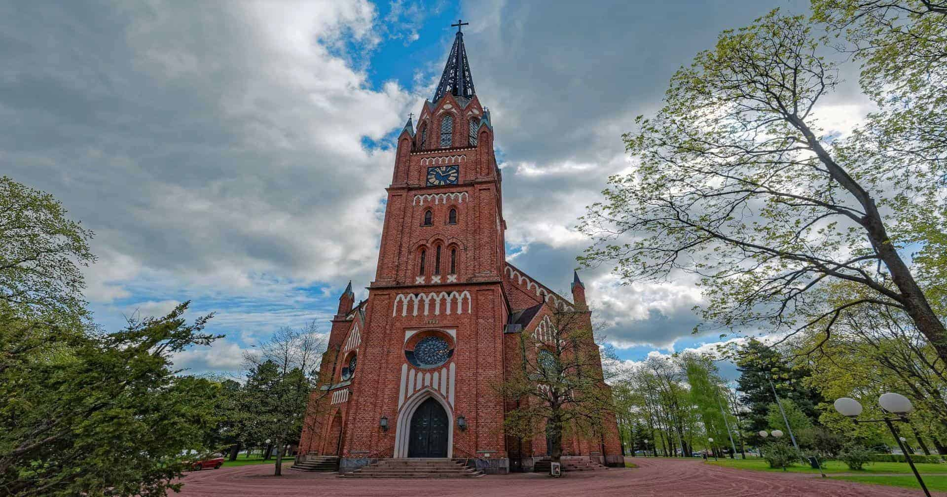 Central Pori Church Pori