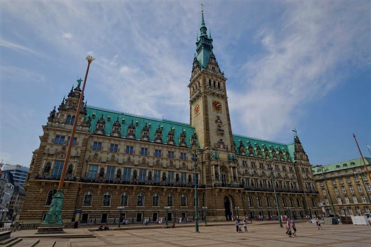 townhall in Hamburg Germany