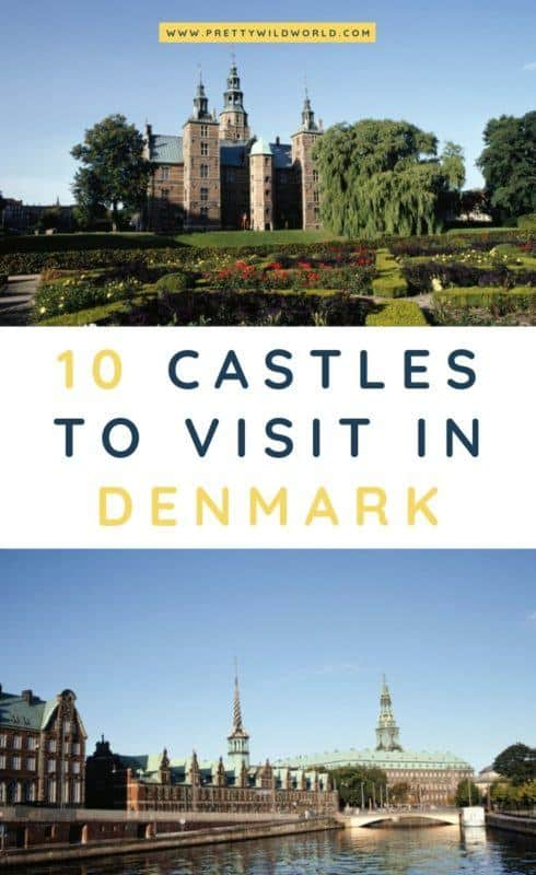 Castles in Denmark | Looking for something interesting and historical to see in Denmark other than its usual tourist attractions? Learn a bit of history and find out what are the top castles in Denmark! #denmark #europe #castles #palace #traveldestinations #traveltips #bucketlisttravel #travelideas #travelguide #amazingdestinations #traveltheworld
