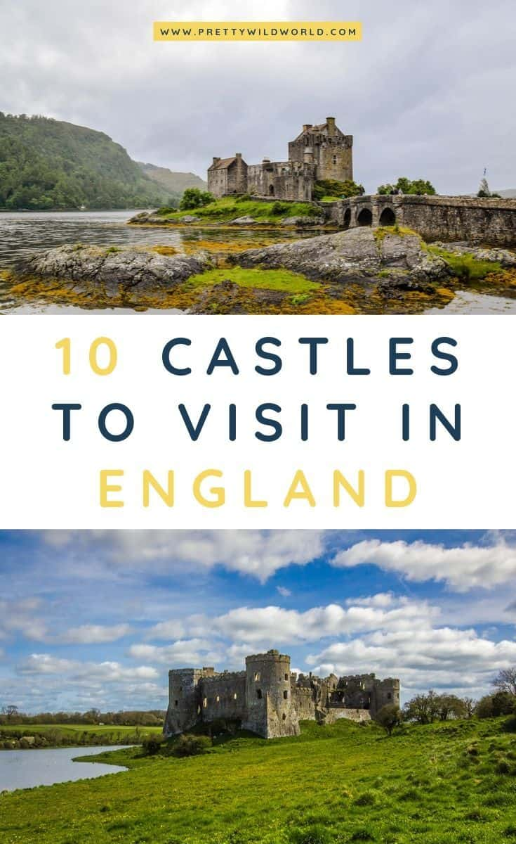Castles in England | Looking for something interesting and historical to see in England other than its usual tourist attractions? Learn a bit of history and find out what are the top castles in England! #england #UK #europe #castles #palace #traveldestinations #traveltips #bucketlisttravel #travelideas #travelguide #amazingdestinations #traveltheworld