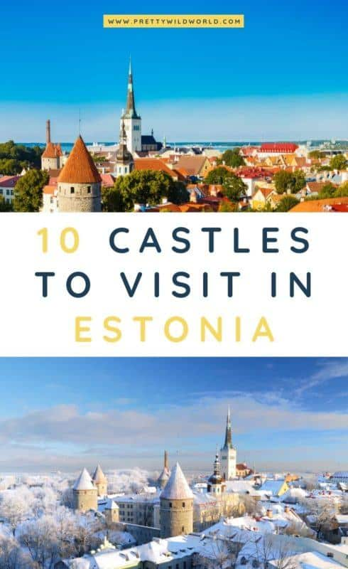 Castles in Estonia | Looking for something interesting and historical to see in Estonia other than its usual tourist attractions? Learn a bit of history and find out what are the <a href=