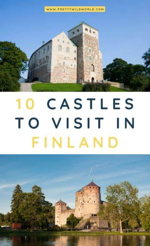 Castles in Finland | Looking for something interesting and historical to see in Finland other than its usual tourist attractions? Learn a bit of history and find out what are the top castles in Finland! #finland #europe #castles #palace #traveldestinations #traveltips #bucketlisttravel #travelideas #travelguide #amazingdestinations #traveltheworld