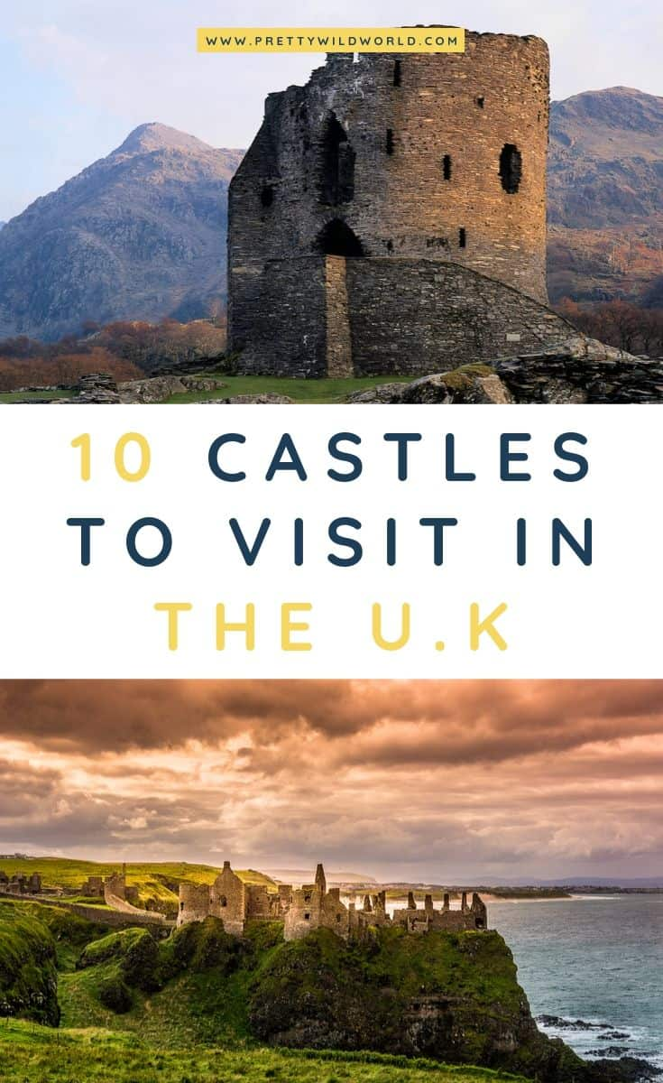 Castles in the UK | Looking for something interesting and historical to see in the UK other than its usual tourist attractions? Learn a bit of history and find out what are the top castles in the UK! #UK #europe #castles #palace #traveldestinations #traveltips #bucketlisttravel #travelideas #travelguide #amazingdestinations #traveltheworld