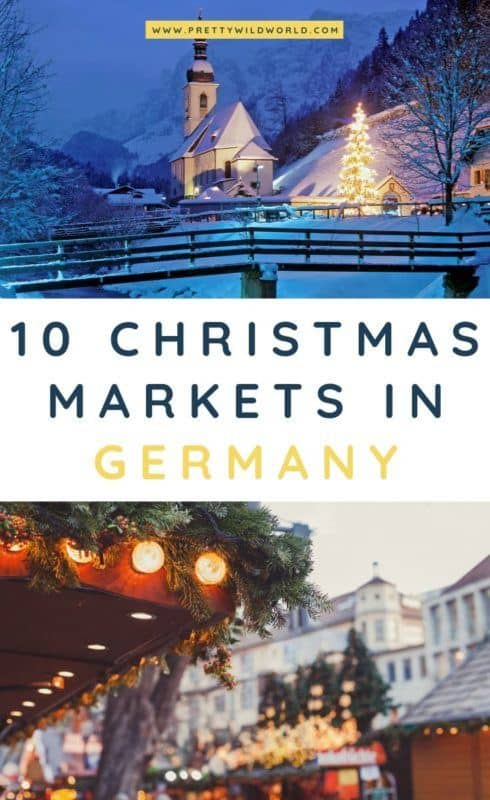Christmas markets in Germany | Looking for activities to do when you travel to Germany during the holiday season? Make sure to visit some of the traditional Christmas markets in Germany! #germany #europe #christmas #traveldestinations #traveltips #bucketlisttravel #travelideas #travelguide #amazingdestinations #traveltheworld