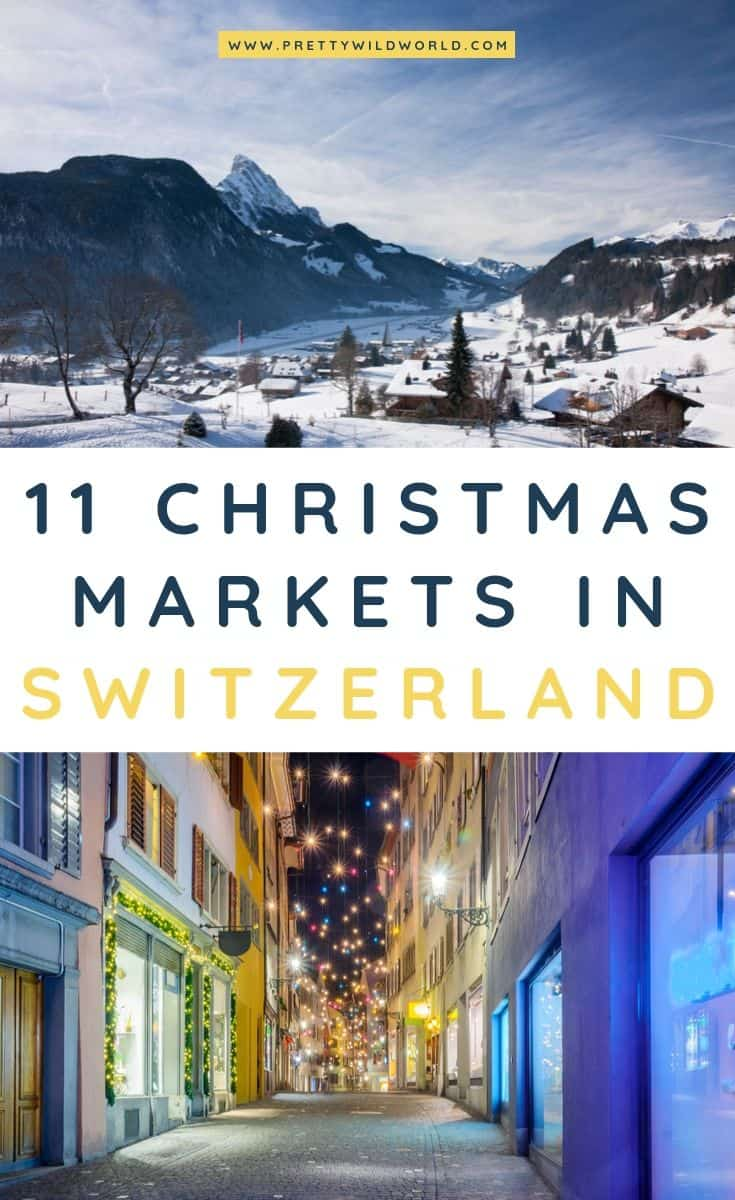 Christmas markets in Switzerland | Are you planning your holiday in Europe this coming winter? Don't forget to also check out these top Christmas markets in Switzerland! #switzerland #europe #christmas #traveldestinations #traveltips #bucketlisttravel #travelideas #travelguide #amazingdestinations #traveltheworld
