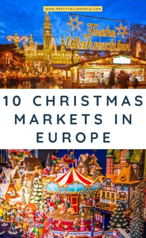 Christmas in Europe | Looking for awesome places to visit this holidays in Europe? Here are some of the best Christmas markets in Europe! #europe #christmas #traveldestinations #traveltips #bucketlisttravel #travelideas #travelguide #amazingdestinations #traveltheworld #christmasmarket #christmasmagic