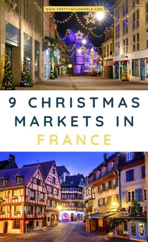 Christmas markets in France | Interested to see some of the magical Christmas markets in France? Check out this post to learn more about their traditions, food, activities, and decorations. #france #europe #christmas #traveldestinations #traveltips #bucketlisttravel #travelideas #travelguide #amazingdestinations #traveltheworld