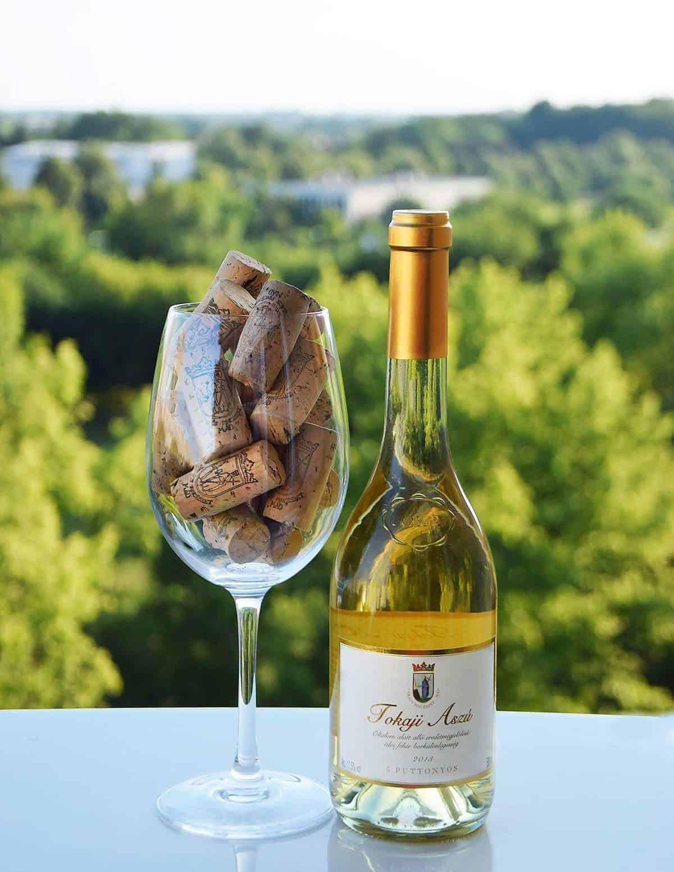 Tokaji wine from Hungary