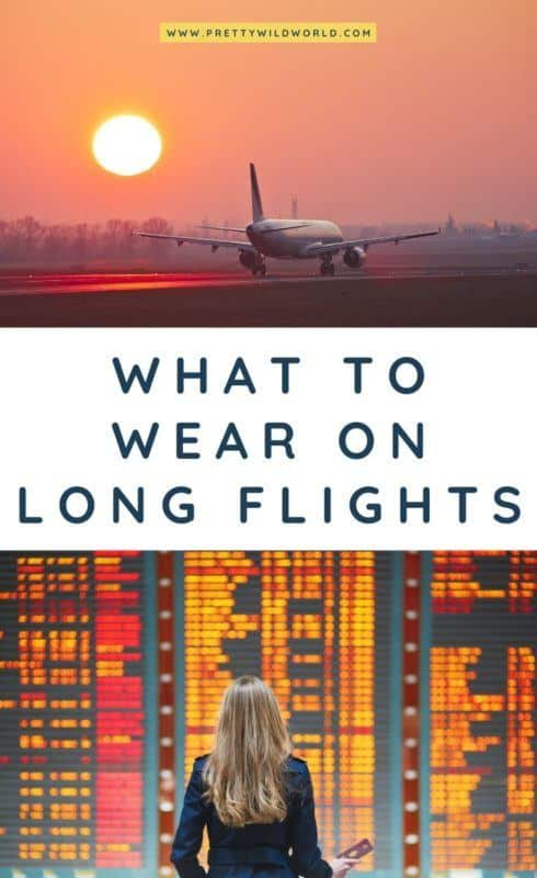 What to wear on a long haul flight | long haul outfits that are stylish, long haul flight essentials, long haul flight tips. Be comfy en route to Europe or Asia and still look chic. Read this post now or pin it for later read! #longhaulflight #traveltips #packinglist #whattowear #airportfashion