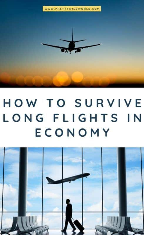 Looking for long haul tips and hacks to survive long flights in economy class? This post is the ultimate survival guide for you! #longhaul #longhaulflight #longhaulflightessentials #flighttips #longflight #longhaulflighttips #longhaulflightoutfit #traveltips #travelhacks #travelhacksandadvice #travelhacksairplane
