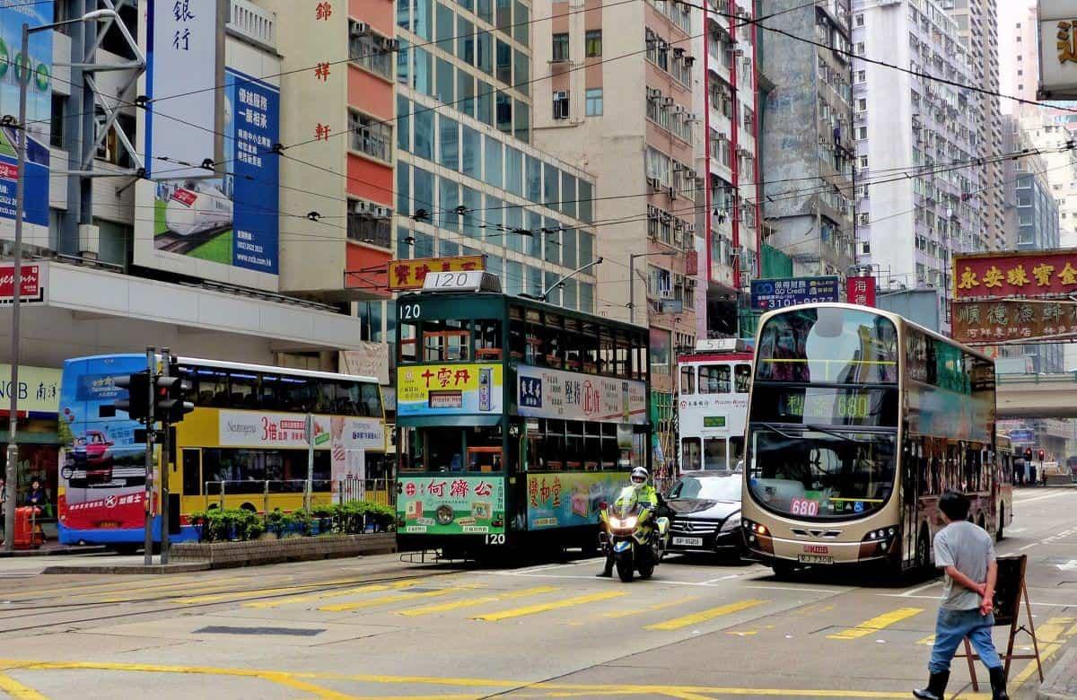 Transportations in Hongkong