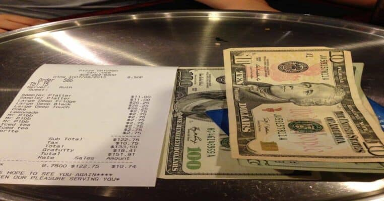 Tipping in Budapest