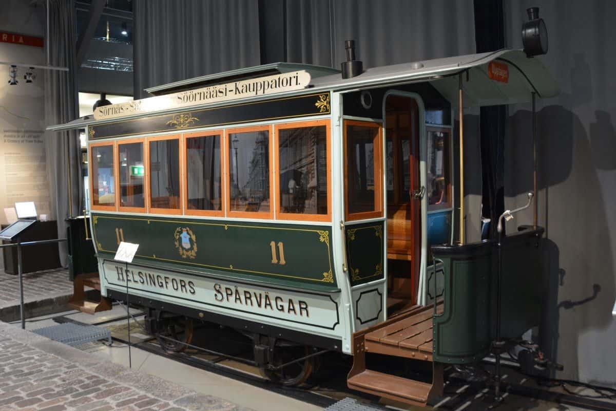 tram museum Helsinki