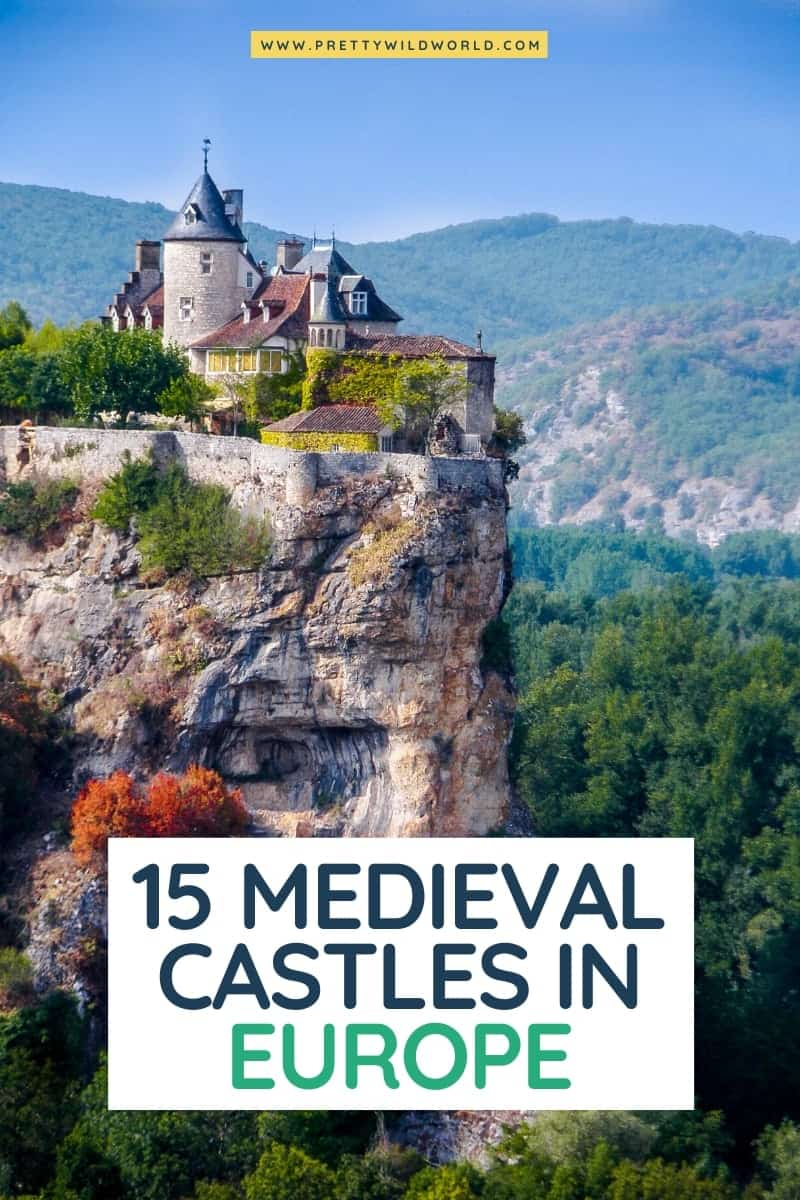 Medieval Castles in Europe | castles in europe fairy tales, european castles, best castles in europe, european castles interior, beautiful castles europe #europe #traveldestination #traveltips #bucketlisttravel #amazingdestinations #travelideas #traveltheworld #travelguides