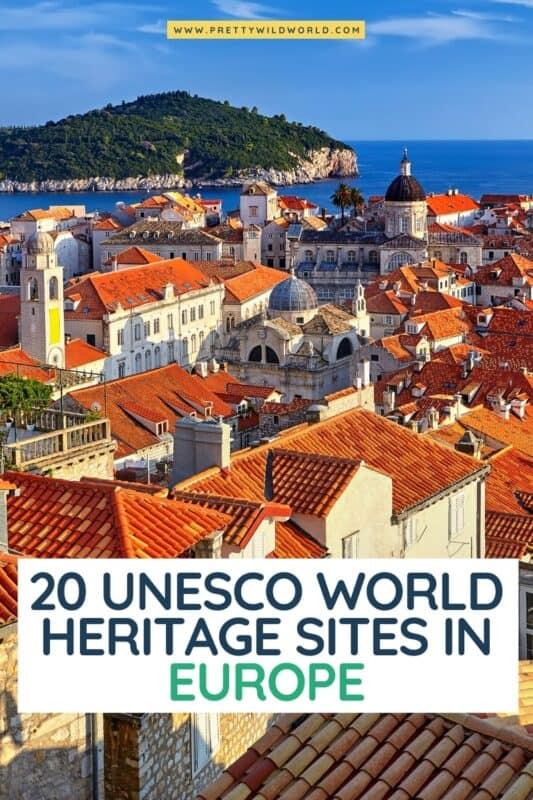 UNESCO World Heritage Sites in Europe | unesco world heritage site list europe, unesco sites europe, unesco world heritage europe #europe #traveldestination #traveltips #bucketlisttravel #amazingdestinations #travelideas #traveltheworld #travelguides