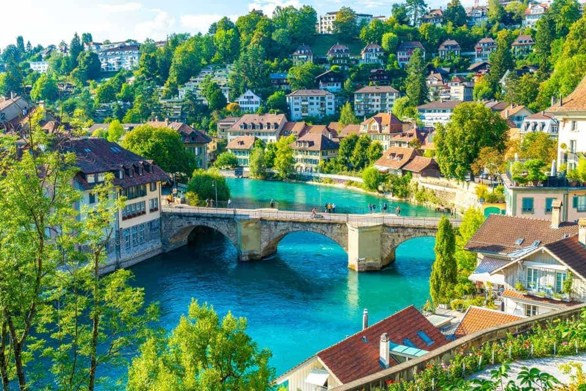 Landlock Countries In Europe Bern-Switzerland