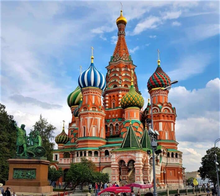 Places to Visit in East Europe Moscow Russia
