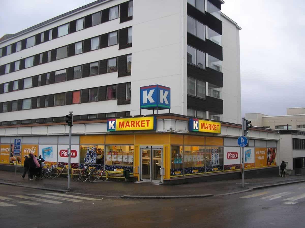 K-Market Jyväskylä Finland