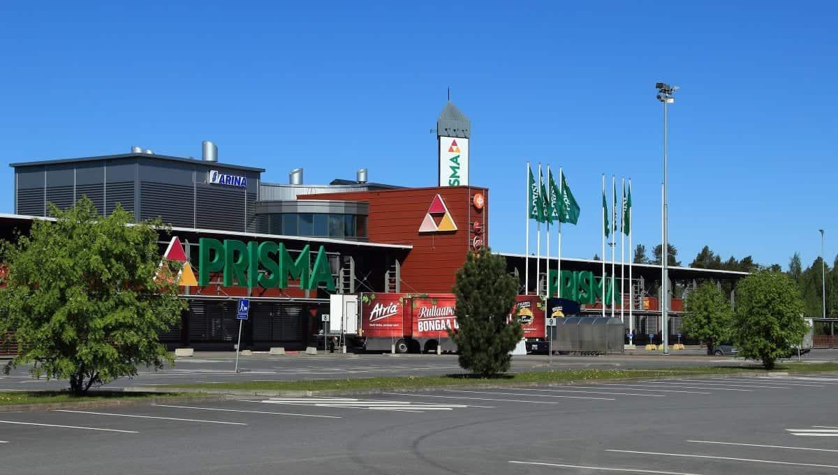 Supermarkets in Finland: Prisma Linnanmaa Oulu
