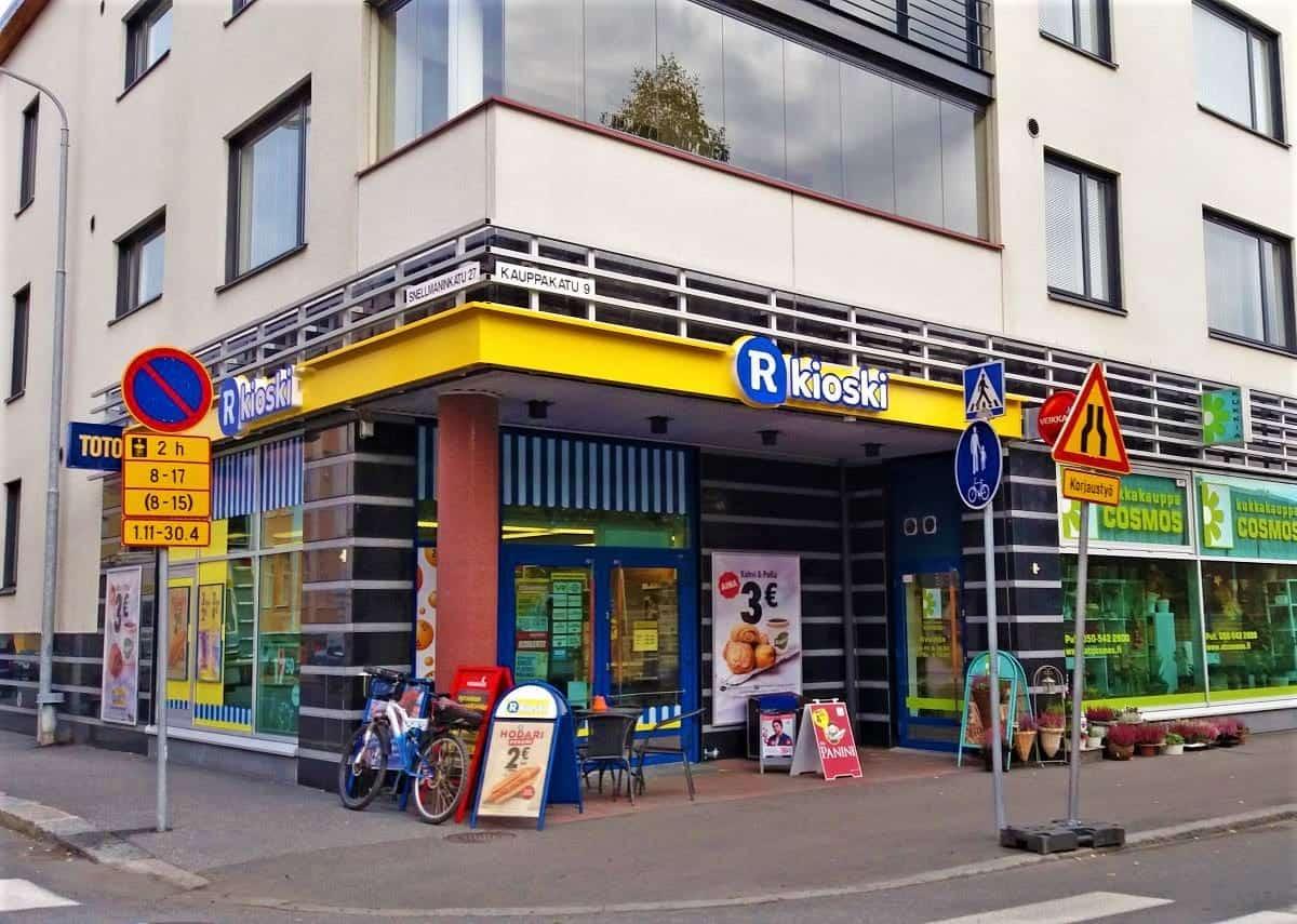 R-kioski Kuopio Finland