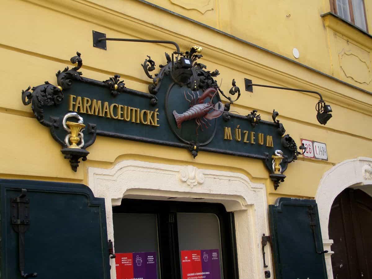 Pharmacy Museum in Bratislava