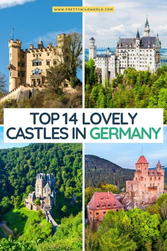 Castles in Germany | german castles, cinderella castle germany, things to do in germany, germany tourist attractions, germany attractions, things to see in germany, must see places in germany, unique places to visit in germany, must do in germany, top attractions in germany, stuff to do in germany #germany #europe #traveldestinations #traveltips #travelguide #travelhacks #bucketlisttravel #amazingdestinations #travelideas #traveltheworld