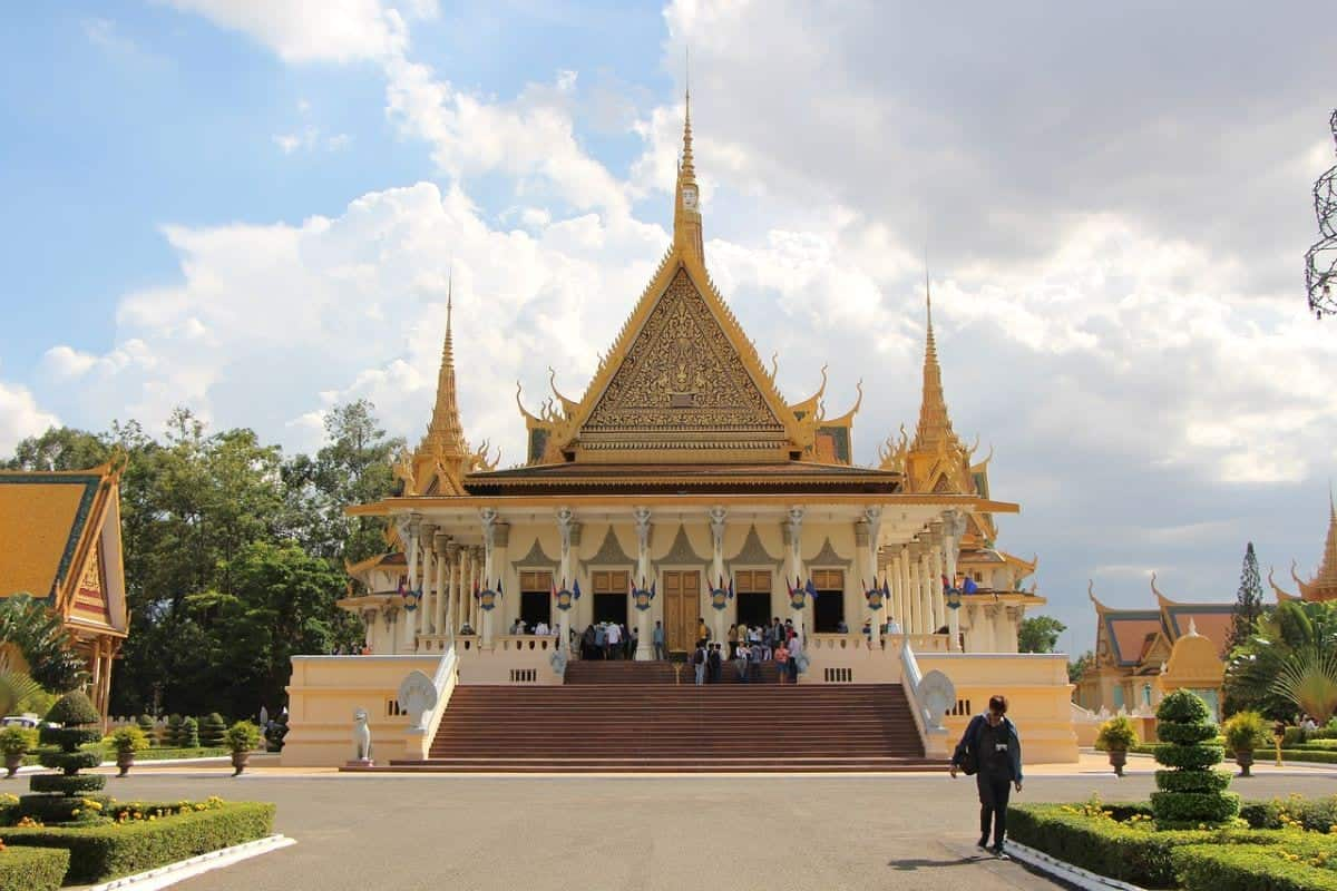 The Royal Palace Of Cambodia Palace Tourism