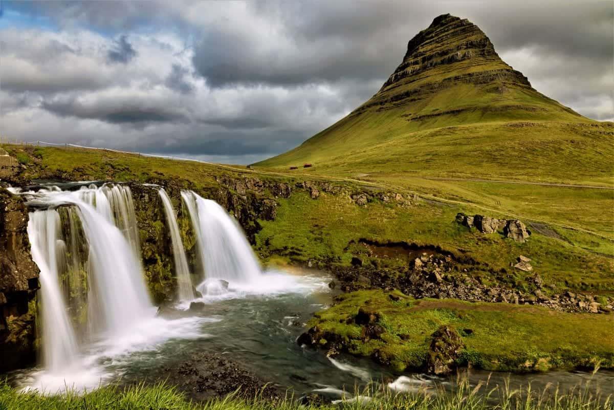 Top 10 BEST Tourist Attractions in Iceland Every Traveler Should Visit: Mt. Kirkjufell Grundarfjörður Iceland