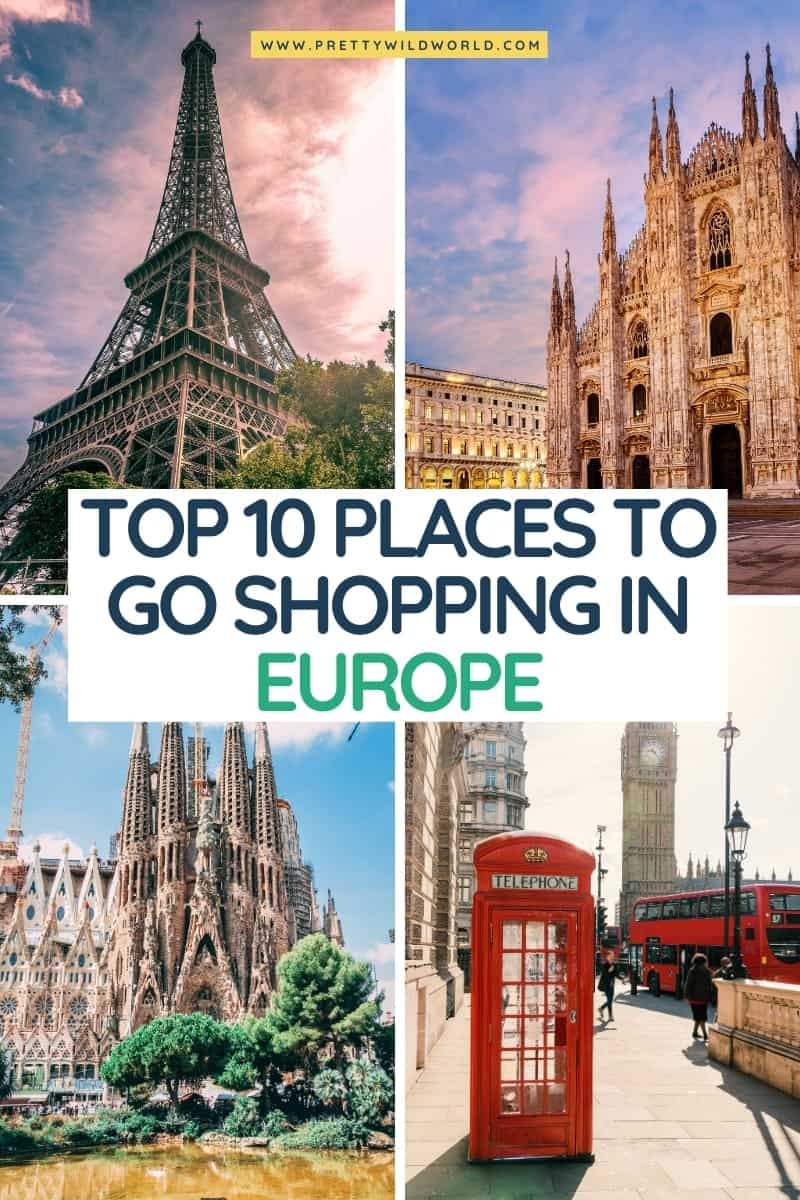Shopping in Europe | travel in europe, top europe destinations, travel tips for europe, europe vacation, travel tips europe, europe travels, europe travel guide, europe adventure, travelling europe, europe cities, visit europe, europe tips #europe #traveldestinations #traveltips #travelguide #travelhacks #bucketlisttravel #amazingdestinations #travelideas #traveltheworld