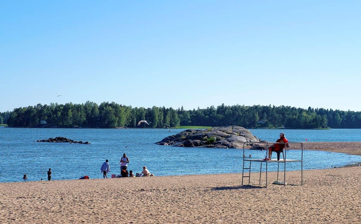 Aurinkolahti Beach Helsinki