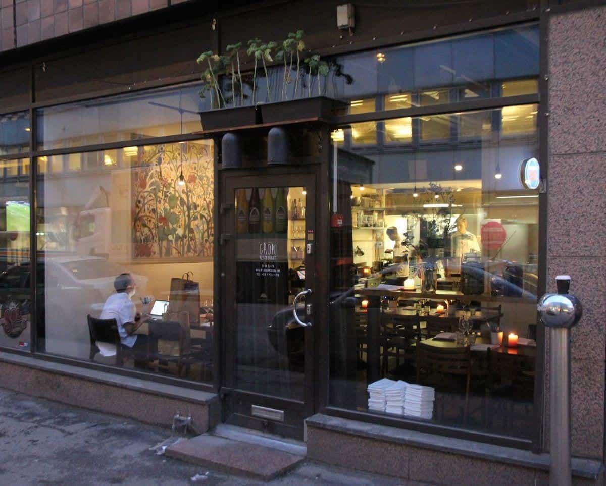 Best Restaurants in Helsinki: Helsinki Restaurant Grön Helsinki