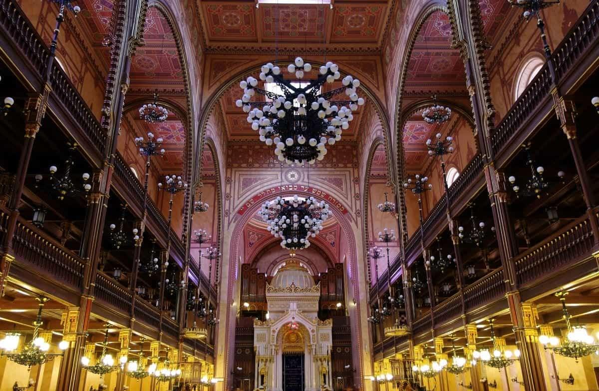Dohány Street Synagogue in Pest Budapest