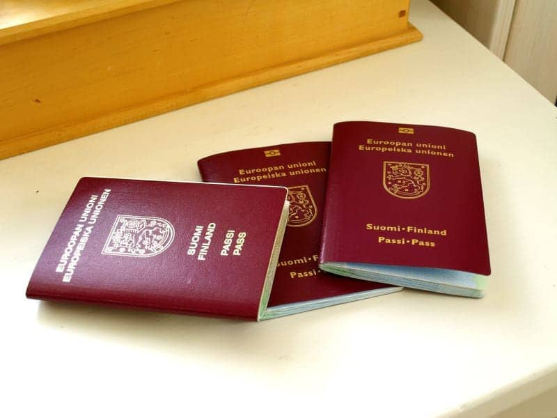 Facts about Finland passports