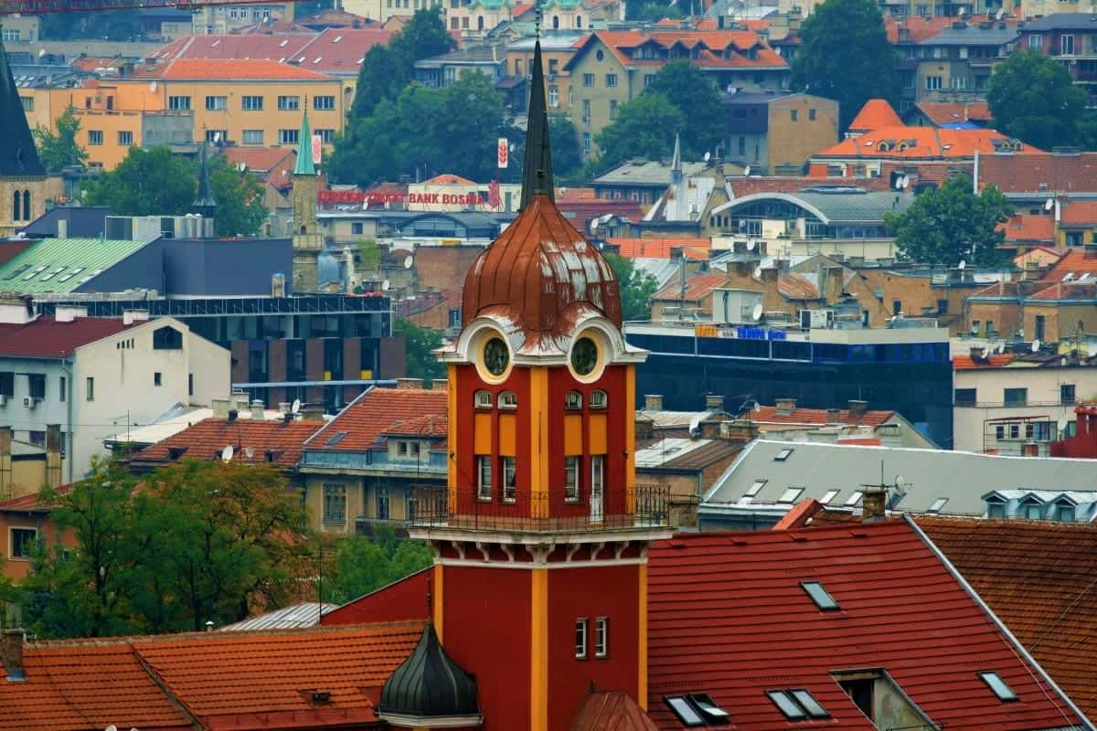 Places to Visit in Balkans Saravejo Bosnia and Herzegovina