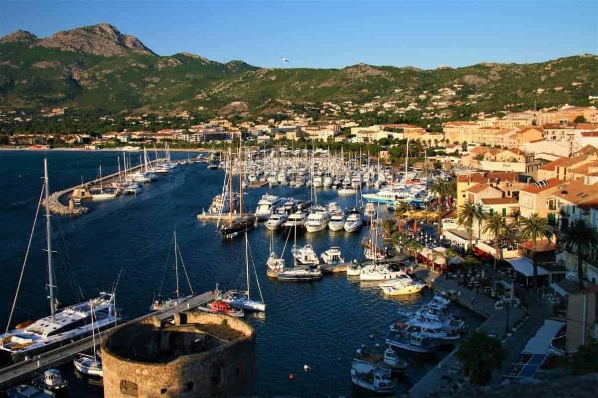 Port Calvi Corsica France