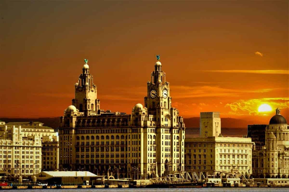 three graces liverpool england