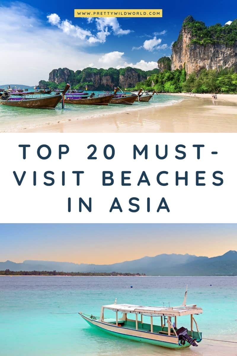 Beaches in Asia | Looking for the best beach in asia, asia beach destinations, asia travel, visit asia, asia vacation, asia travel tips, or asia travel bucket list? Read this post now or pin it for later read! #asia #traveldestination #traveltips #bucketlisttravel #amazingdestinations #travelideas #traveltheworld #travelguides